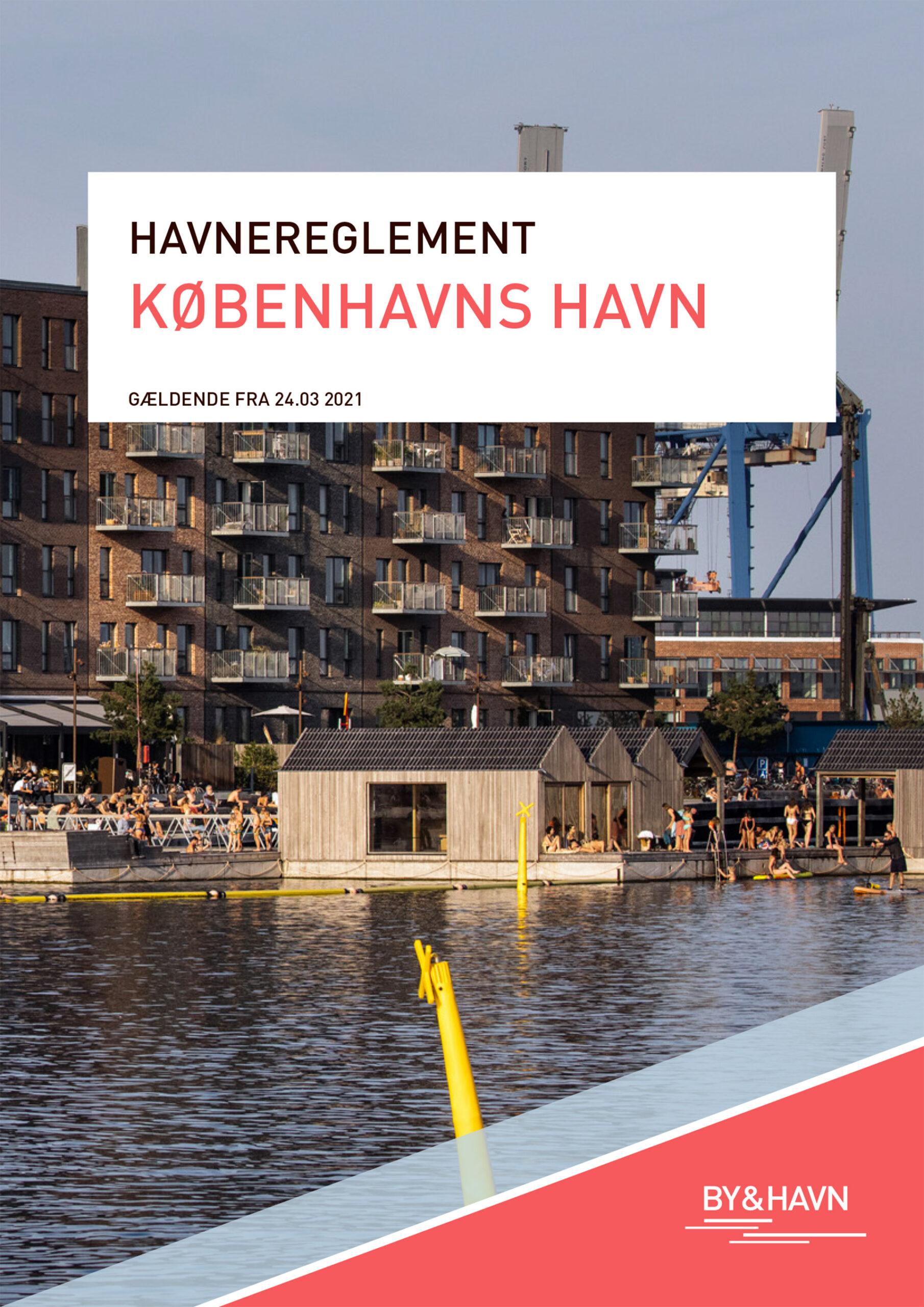 Forsiden af Havnereglementet