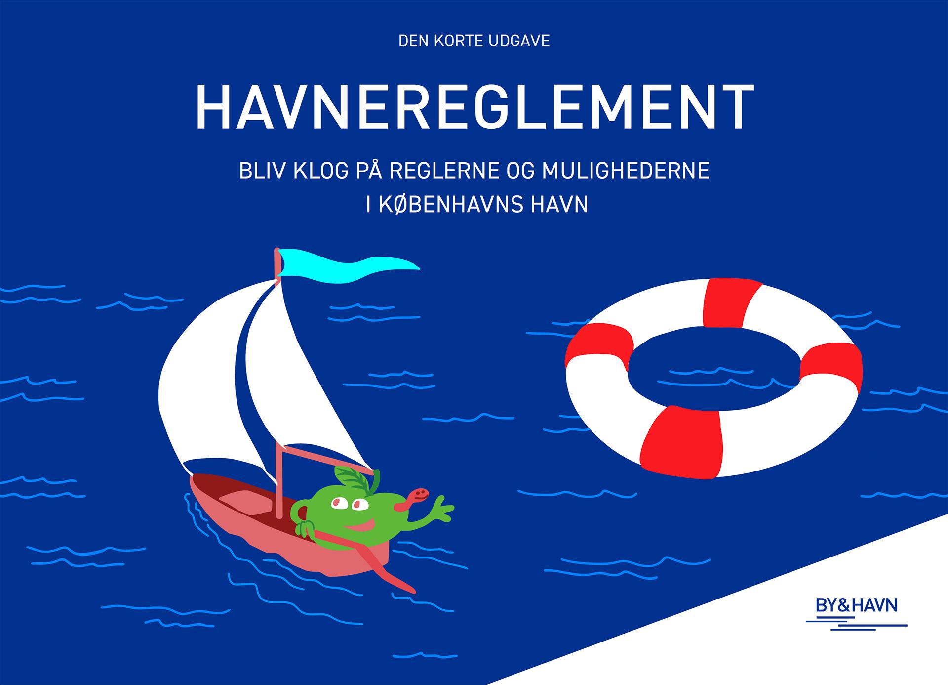 Forsiden af Den Korte Udgave af Havnereglementet