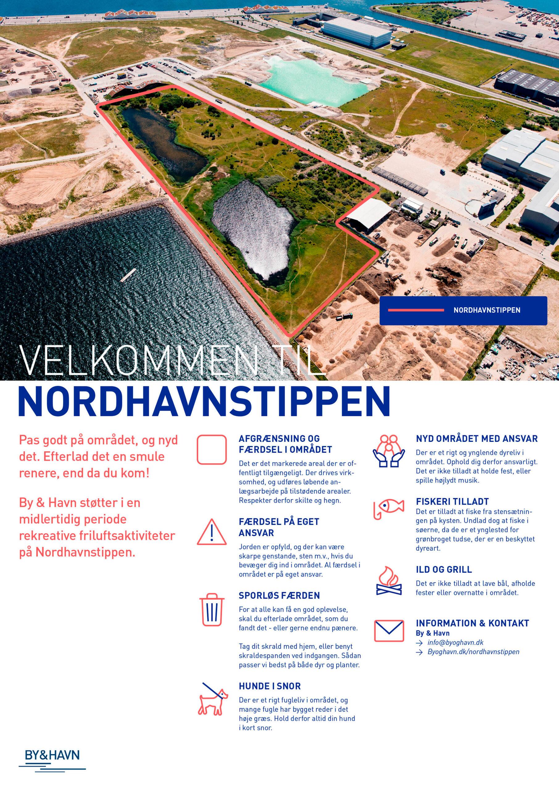 Nordhavnstippen_Skilt-u_markering