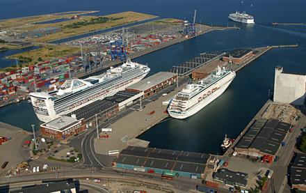 skibe i københavns havn i dag