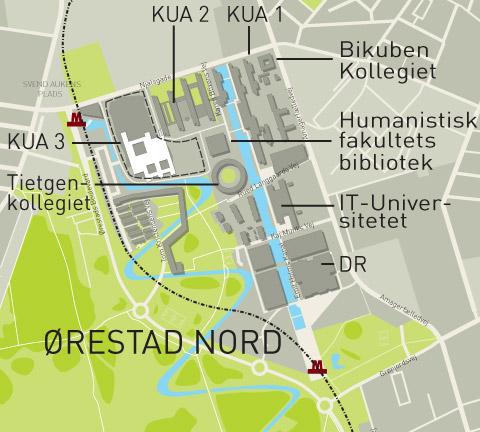 Kobenhavns Universitet Abner Sig For Orestad By Havn