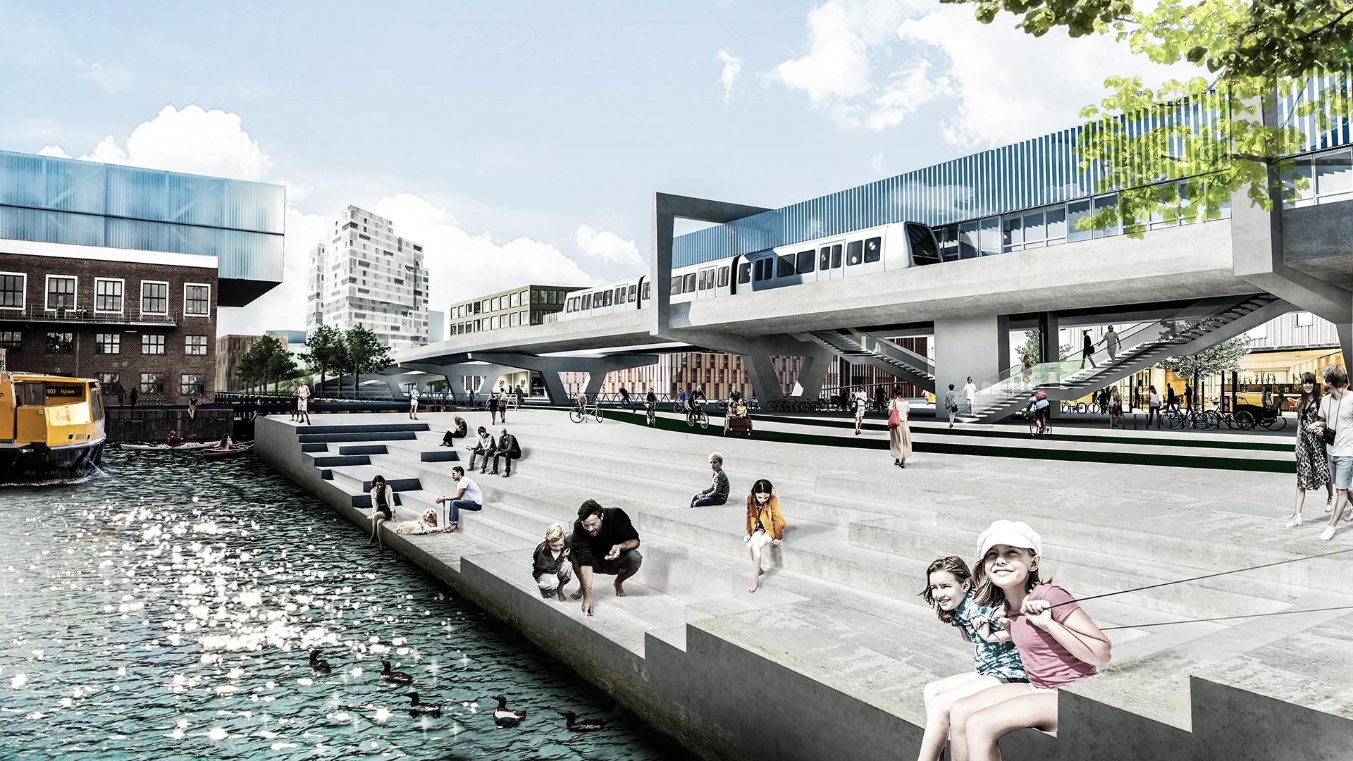 Metroen til Nordhavn åbner den 28. marts By & Havn