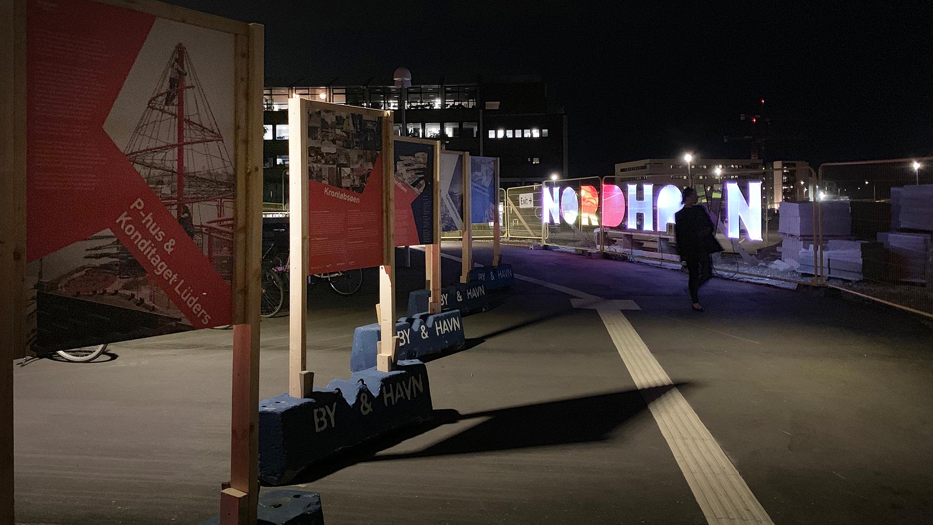 Plancheudstilling i Nordhavn